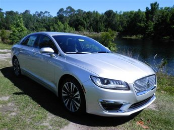 2018 Lincoln MKZ Select Sedan Automatic 4 Door 2.0L Turbocharged Engine FWD