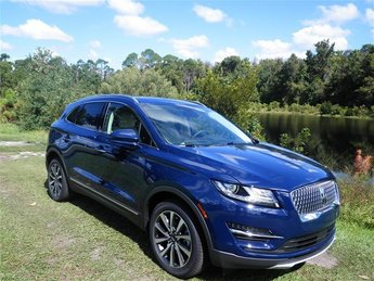 2019 Rhapsody Blue Metallic Lincoln MKC Reserve 2.0L I4 Engine Automatic FWD 4 Door