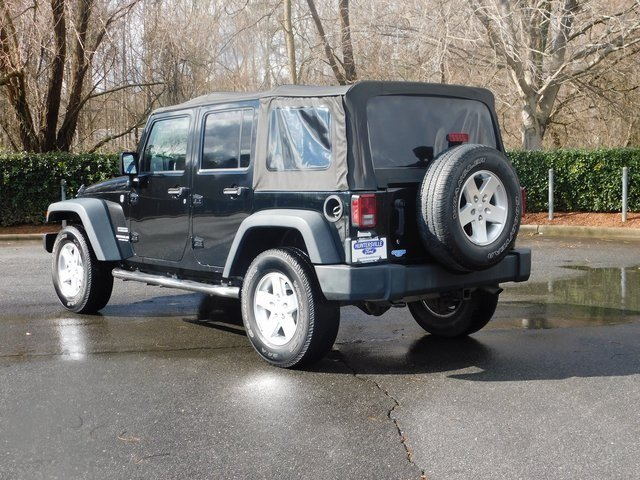 2014 Jeep Wrangler Unlimited Sport 4X4 Automatic 3.6L V6 24V VVT Engine