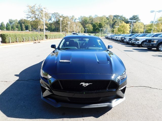 2019 Shadow Black Ford Mustang GT Coupe Automatic 5.0L V8 Ti-VCT Engine