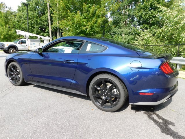 2018 Kona Blue Metallic Ford Mustang GT Coupe 5.0L V8 Ti-VCT Engine Automatic