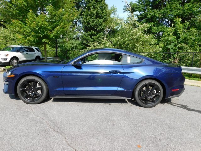 2018 Kona Blue Metallic Ford Mustang GT Automatic RWD 5.0L V8 Ti-VCT Engine Coupe