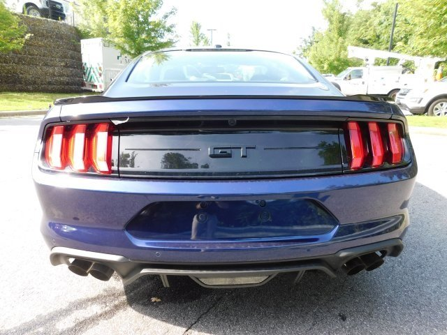 2018 Kona Blue Metallic Ford Mustang GT 5.0L V8 Ti-VCT Engine RWD Automatic Coupe 2 Door