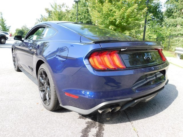 2018 Kona Blue Metallic Ford Mustang GT RWD 5.0L V8 Ti-VCT Engine Coupe 2 Door
