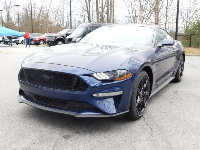 2019 Ford Mustang GT RWD 2 Door 5.0L V8 Ti-VCT Engine Automatic Coupe