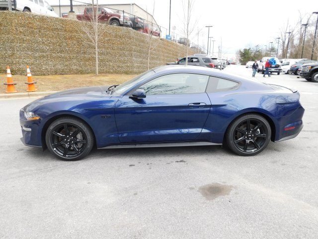 2019 Kona Blue Metallic Ford Mustang GT Automatic Coupe 5.0L V8 Ti-VCT Engine 2 Door