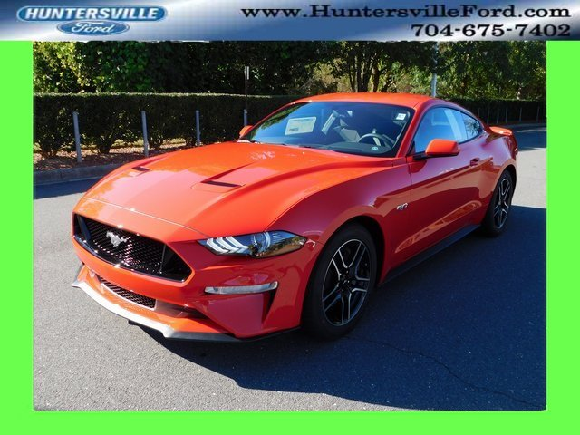 2019 Ford Mustang GT 5.0L V8 Ti-VCT Engine Manual Coupe 2 Door RWD