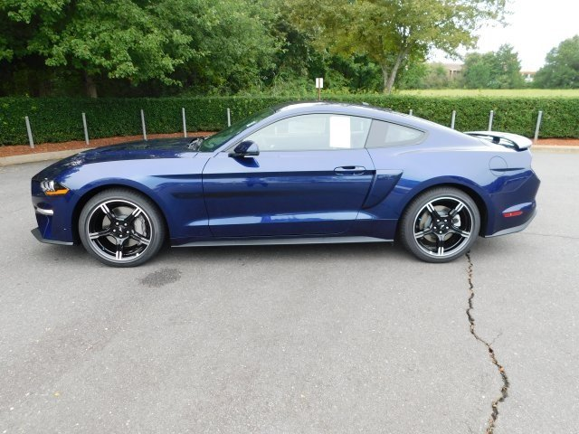 2019 Kona Blue Metallic Ford Mustang GT Premium Manual 5.0L V8 Ti-VCT Engine Coupe RWD 2 Door
