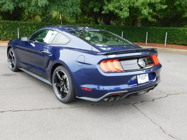 2019 Kona Blue Metallic Ford Mustang GT Premium Manual RWD 2 Door Coupe 5.0L V8 Ti-VCT Engine