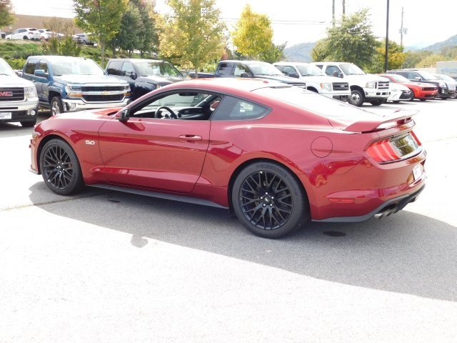 2019 Ruby Red Metallic Tinted Clearcoat Ford Mustang GT Premium 2 Door Automatic RWD Coupe