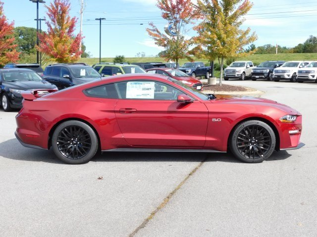 2019 Ruby Red Metallic Tinted Clearcoat Ford Mustang GT Premium 2 Door RWD Coupe 5.0L V8 Ti-VCT Engine