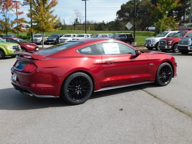 2019 Ruby Red Metallic Tinted Clearcoat Ford Mustang GT Premium 2 Door RWD 5.0L V8 Ti-VCT Engine