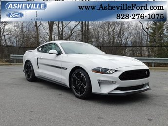 2019 Oxford White Ford Mustang GT Premium 2 Door Automatic RWD Coupe 5.0L V8 Ti-VCT Engine