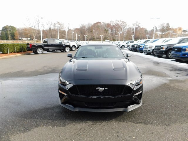 2019 Shadow Black Ford Mustang GT Premium 5.0L V8 Ti-VCT Engine RWD 2 Door