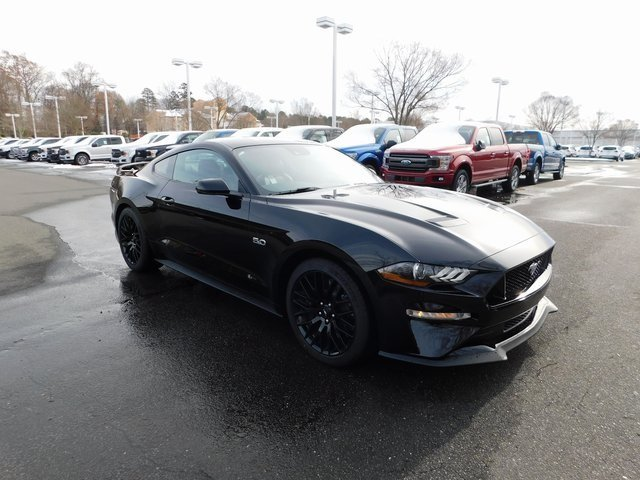 2019 Shadow Black Ford Mustang GT Premium 2 Door Coupe 5.0L V8 Ti-VCT Engine Automatic