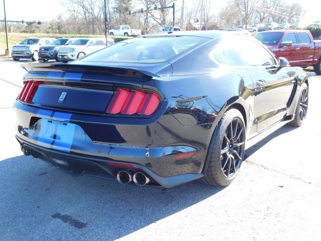 2018 Shadow Black Ford Mustang Shelby GT350 5.2L Ti-VCT V8 Engine Manual RWD 2 Door Coupe
