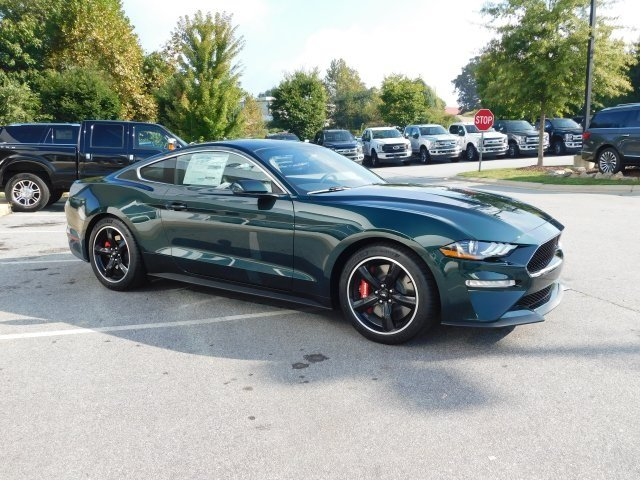 2019 Ford Mustang Bullitt Coupe Manual RWD 5.0L V8 Ti-VCT Engine