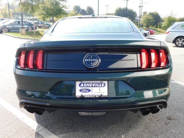 2019 Dark Highland Green Metallic Ford Mustang Bullitt Coupe RWD 5.0L V8 Ti-VCT Engine