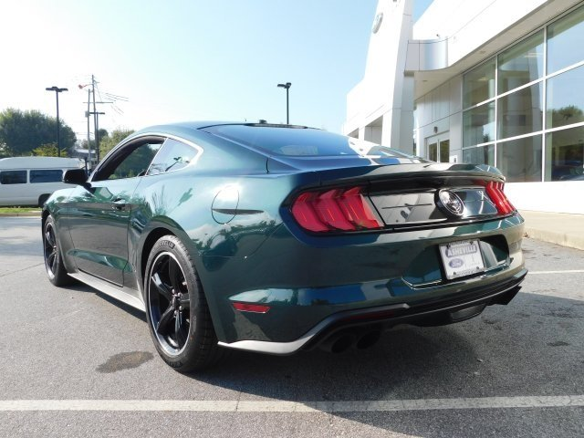 2019 Ford Mustang Bullitt RWD 5.0L V8 Ti-VCT Engine Manual 2 Door Coupe