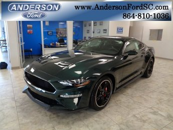 2019 Ford Mustang Bullitt Manual Coupe 5.0L V8 Ti-VCT Engine RWD 2 Door