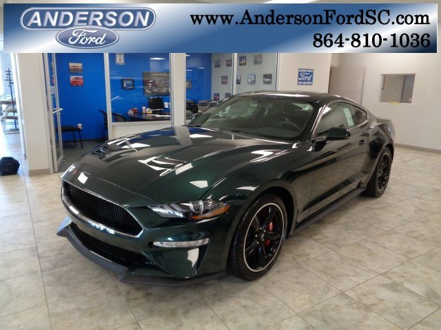 2019 Ford Mustang Bullitt RWD Coupe Manual 5.0L V8 Ti-VCT Engine 2 Door