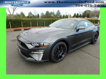 2019 Magnetic Metallic Ford Mustang EcoBoost Premium EcoBoost 2.3L I4 GTDi DOHC Turbocharged VCT Engine 2 Door Automatic