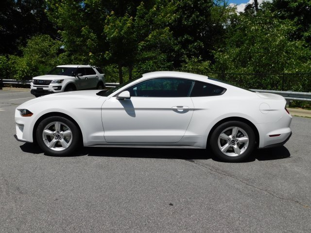 2018 Oxford White Ford Mustang EcoBoost Automatic RWD 2 Door EcoBoost 2.3L I4 GTDi DOHC Turbocharged VCT Engine Coupe
