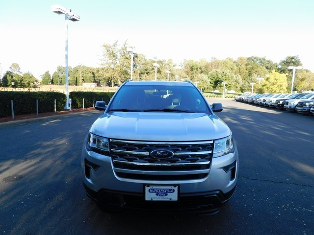 2019 Ingot Silver Metallic Ford Explorer Base FWD SUV 4 Door