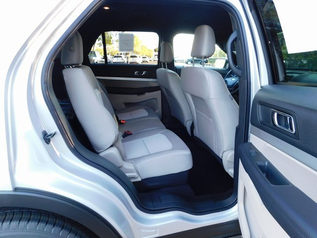 2019 Ingot Silver Metallic Ford Explorer Base SUV 3.5L V6 Ti-VCT Engine Automatic