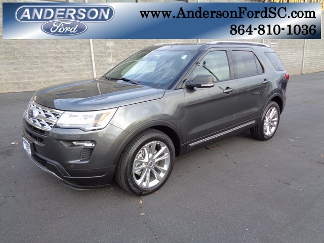 2019 Magnetic Metallic Ford Explorer XLT 3.5L V6 Ti-VCT Engine FWD SUV
