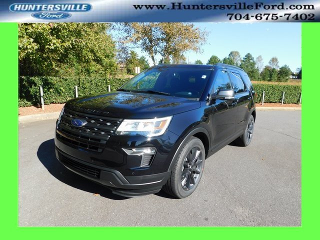 2019 Agate Black Metallic Ford Explorer XLT FWD 3.5L V6 Ti-VCT Engine 4 Door