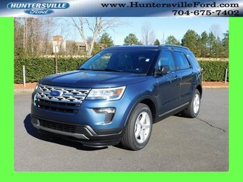 2019 Blue Metallic Ford Explorer XLT FWD SUV 3.5L V6 Ti-VCT Engine Automatic 4 Door