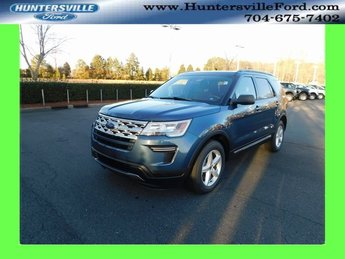 2019 Blue Metallic Ford Explorer XLT Automatic SUV FWD