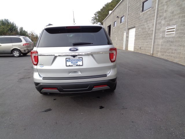 2019 Ingot Silver Metallic Ford Explorer XLT 3.5L V6 Ti-VCT Engine SUV FWD 4 Door