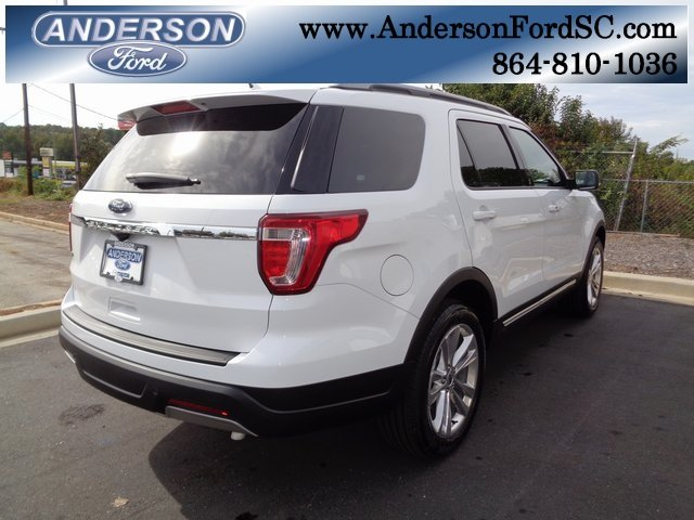 2019 Ford Explorer XLT 3.5L V6 Ti-VCT Engine Automatic FWD 4 Door SUV