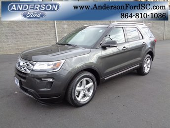 2019 Magnetic Metallic Ford Explorer XLT Automatic FWD 3.5L V6 Ti-VCT Engine