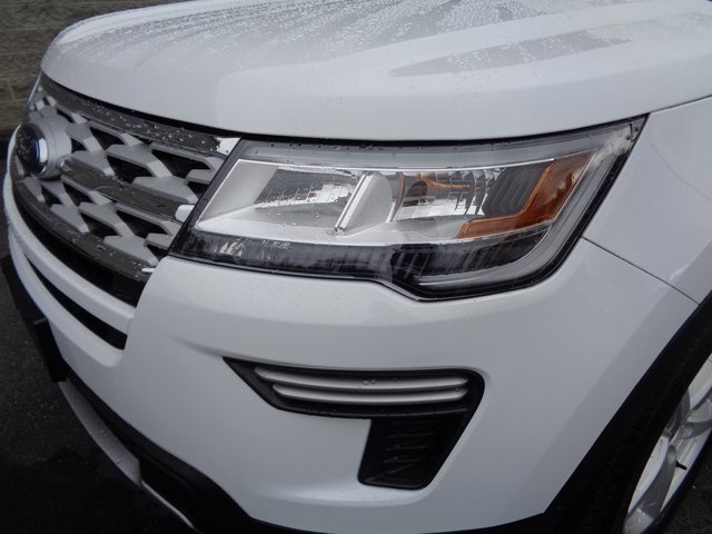2019 Oxford White Ford Explorer XLT FWD 4 Door Automatic SUV