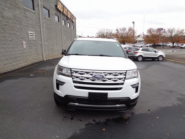 2019 Oxford White Ford Explorer XLT Automatic 3.5L V6 Ti-VCT Engine SUV 4 Door