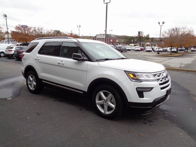 2019 Ford Explorer XLT FWD 3.5L V6 Ti-VCT Engine Automatic SUV 4 Door