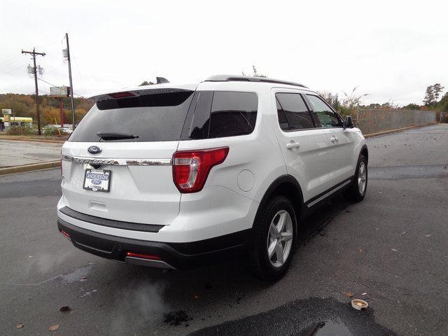 2019 Oxford White Ford Explorer XLT Automatic 3.5L V6 Ti-VCT Engine FWD