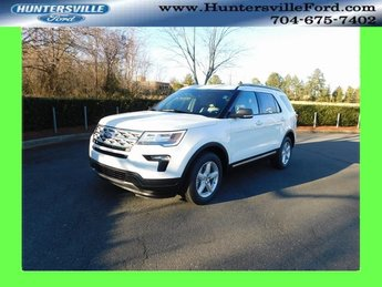 2019 Oxford White Ford Explorer XLT SUV 3.5L V6 Ti-VCT Engine Automatic