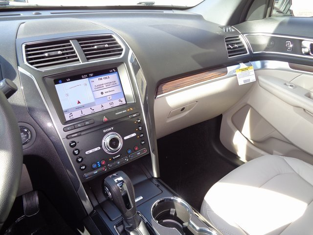 2019 Ford Explorer Limited SUV FWD Automatic 4 Door 3.5L V6 Ti-VCT Engine