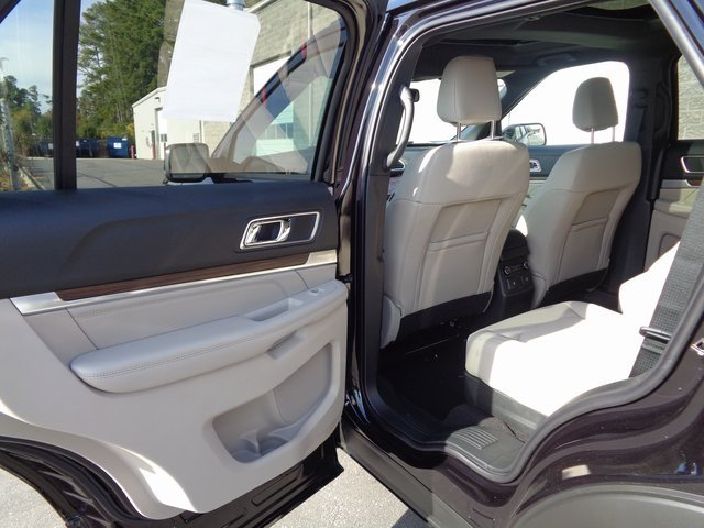 2019 Ford Explorer Limited 4 Door SUV 3.5L V6 Ti-VCT Engine FWD Automatic