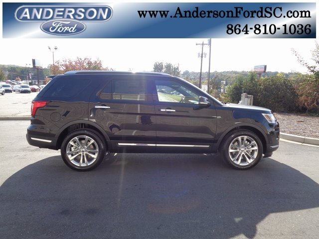 2019 Agate Black Metallic Ford Explorer Limited 4 Door Automatic 3.5L V6 Ti-VCT Engine