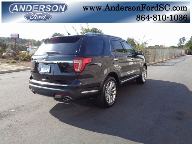 2019 Agate Black Metallic Ford Explorer Limited Automatic SUV 3.5L V6 Ti-VCT Engine