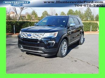2019 Agate Black Metallic Ford Explorer XLT 3.5L V6 Ti-VCT Engine 4 Door SUV 4X4