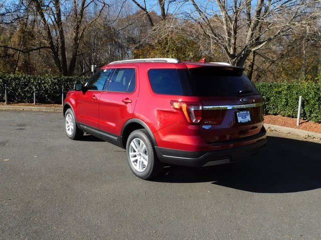 2019 Ruby Red Metallic Tinted Clearcoat Ford Explorer XLT 3.5L V6 Ti-VCT Engine SUV Automatic