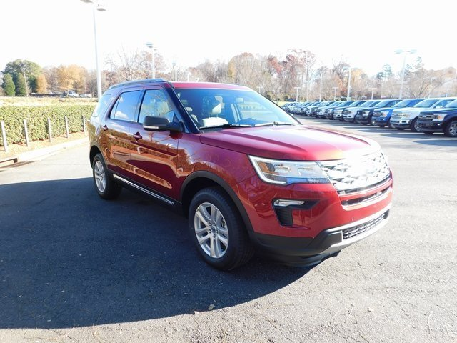2019 Ford Explorer XLT SUV 3.5L V6 Ti-VCT Engine 4 Door Automatic 4X4
