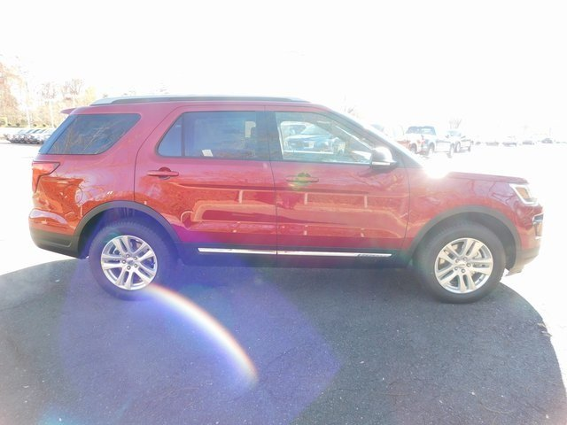 2019 Ruby Red Metallic Tinted Clearcoat Ford Explorer XLT 4X4 Automatic 3.5L V6 Ti-VCT Engine SUV