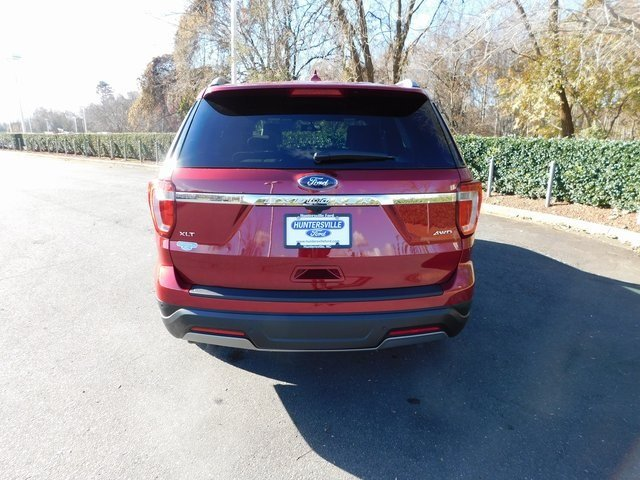 2019 Ruby Red Metallic Tinted Clearcoat Ford Explorer XLT 4X4 Automatic 4 Door 3.5L V6 Ti-VCT Engine SUV